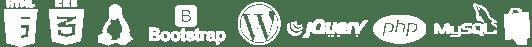 html5, css, jquery, php, Prestashop, Wordpress, bootstrap