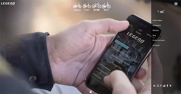 Bicicletas Eléctricas Legend